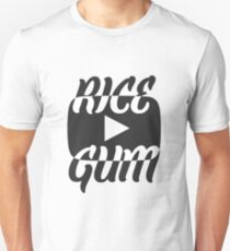 RiceGum YouTube Play Button Design T-Shirt