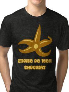 French chocolate starfish Tri-blend T-Shirt