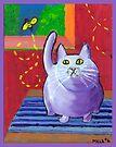 Big Fat Cat by melasdesign
