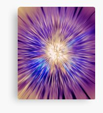 Abstract colorful energy glow art photo print Canvas Print