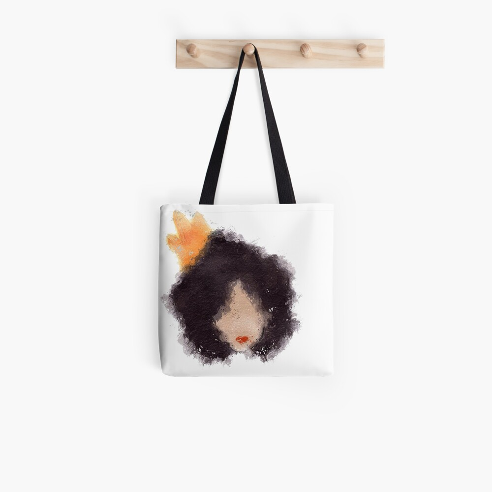Royal Afro Tote Bag