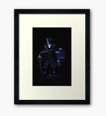 Hatbox Ghost Framed Print