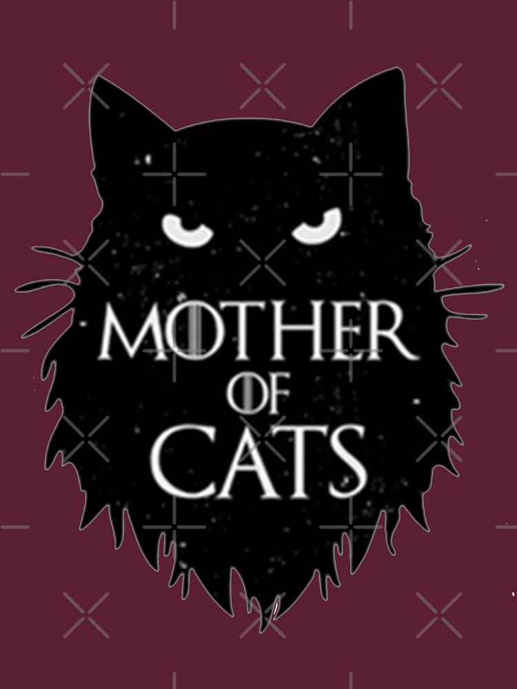 La mejor madre de gatos T shirt-game of thrones de kimoufaster