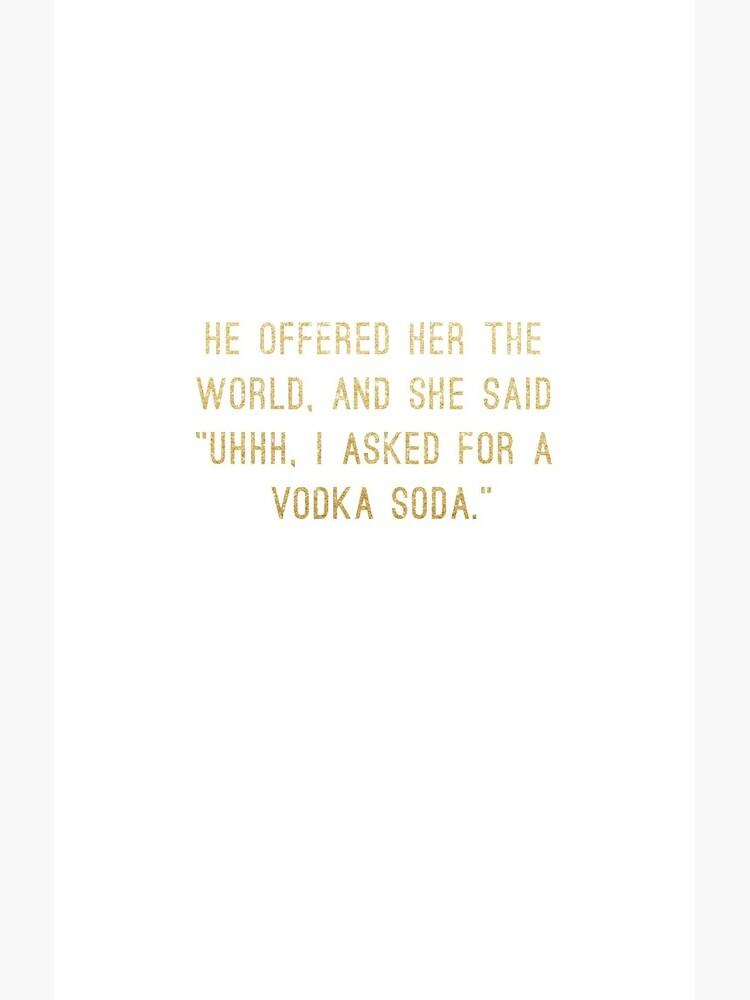 Wodka-Soda von RandomCotton