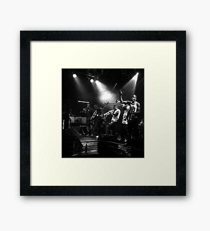 Hypnotic Ensemble Framed Print