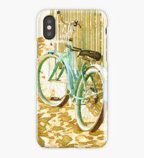 Aqua Beach Cruiser iPhone Case/Skin