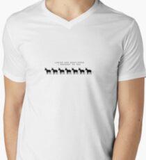 Game Grumps - Seven Asses Tee Men's V-Neck T-Shirt