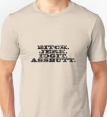 Supernatural - Bitch Jerk Idgit Assbutt T-Shirt