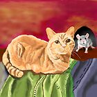 Cat and Mouse (Izzie Caught Unawares) by melasdesign