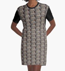 Queen of the Forest Graphic T-Shirt Dress