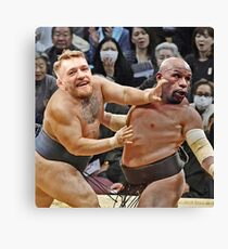 Conor McGregor and Floyd Mayweather Meme Canvas Print