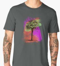 Grunge Palm Tree Summer T-Shirt Men's Premium T-Shirt