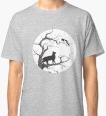 Dangerous conversations sumi-e painting Classic T-Shirt