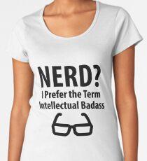 Nerd ? Women's Premium T-Shirt