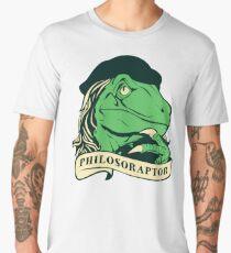 Philosoraptor Men's Premium T-Shirt