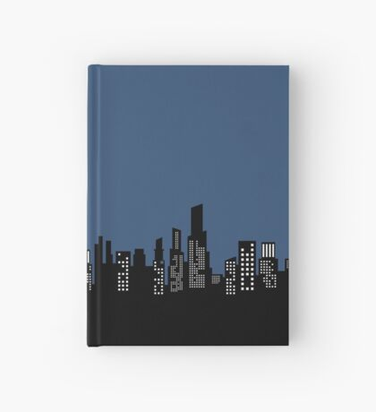City Skyline Hardcover Journal