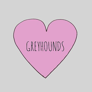 Greyhound Love by Bundjum