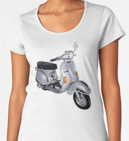 Scooter T-shirts Art: P200e vintage scooter Women's Premium T-Shirt