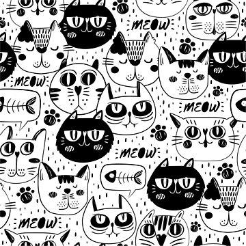 Cat faces  by DCstore