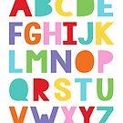 colourful alphabet by creativemonsoon