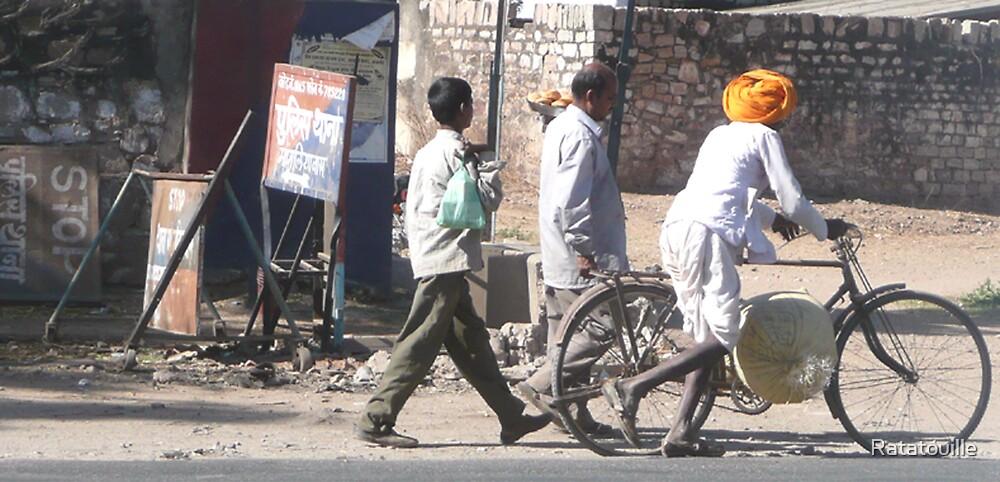 Street Life in Jaipur by Ratatouille