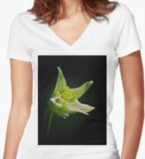 Claw of Tree Women's Fitted V-Neck T-Shirt