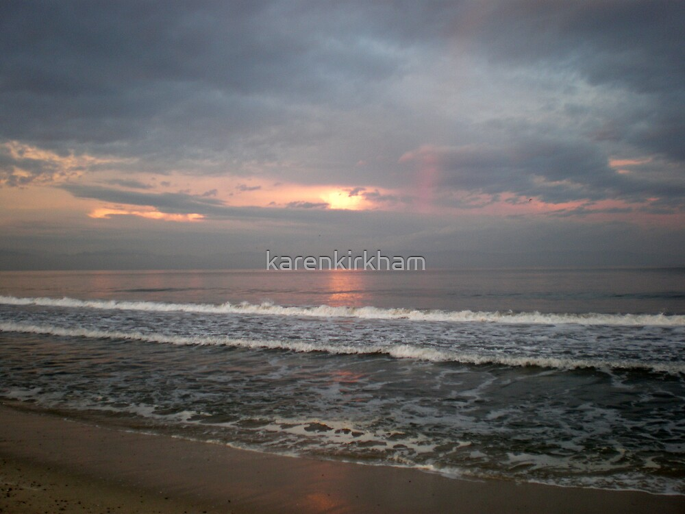 Dawn Over the Pacific by karenkirkham