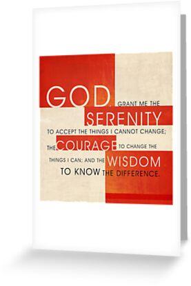 Serenity Prayer by Dallas Drotz