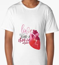Once Upon A Time Musical - Love Doesn't Stand A Chance Long T-Shirt