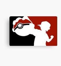 Pokemon Pokeball - Pokemon Go Canvas Print