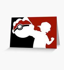 Pokemon Pokeball - Pokemon Go Greeting Card