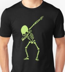 Skeleton - Dabbing Skeleton Dab Hip Hop Skull D T-Shirt