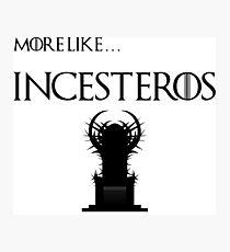 Incesteros Photographic Print