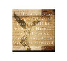 Quot Deuteronomy 31 8 Quot By Dallas Drotz Redbubble