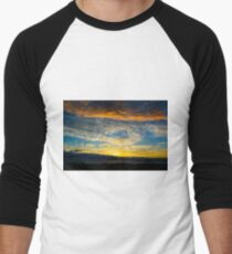 Sunset over Lancelin Men's Baseball ¾ T-Shirt