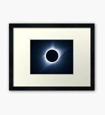 Lámina enmarcada Eclipse Solar 2017 - Totalidad Corona III