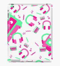 Neon Retro 80s Party iPad Case/Skin