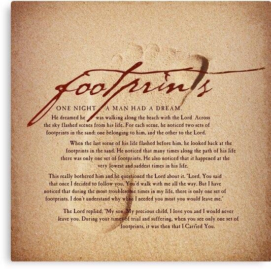 Footprints by Dallas Drotz