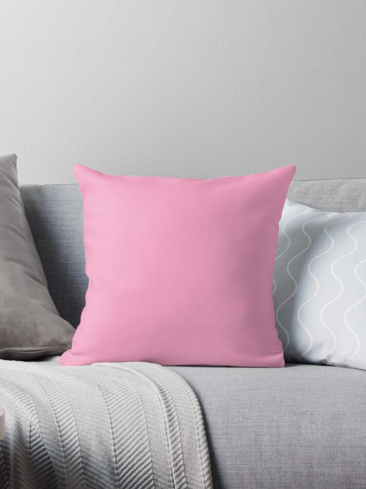 Beautiful Cushions/ Plain Carnation pink by ozcushions