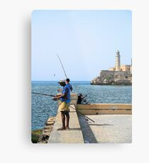 Malecon Cartoons Metal Print
