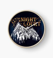 A Court of Wings and Ruin, The Night Court Clock
