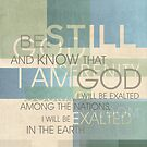 Psalm Scripture Collage by Dallas Drotz