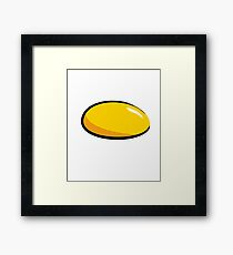 Egg Yolk - Egg Costume Halloween Framed Print