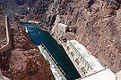 Hydroelectric Plant - Hoover Dam by John Schneider