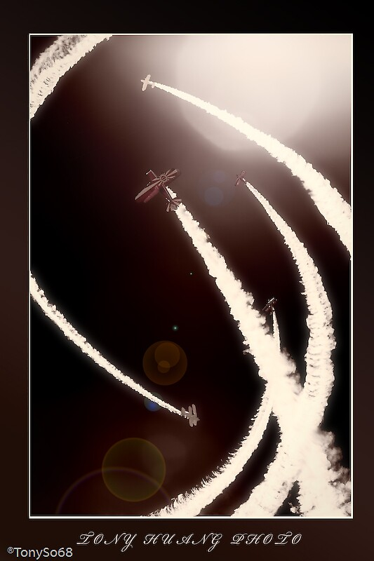 air show with frame by tonyso68