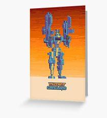 Mutant Gangland Signal Poster 1 Greeting Card