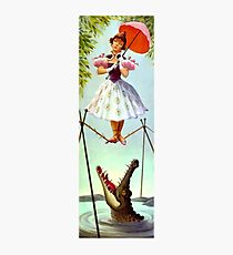 Tight Rope Girl Photographic Print