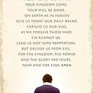 The Lord's Prayer by Dallas Drotz