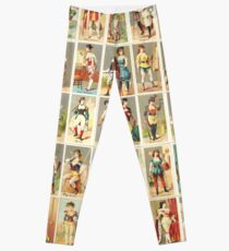 Occupations for Women Series Trading Cards Massive collage! Leggings