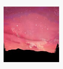 Acid Rap/Coloring Book Sky Photographic Print